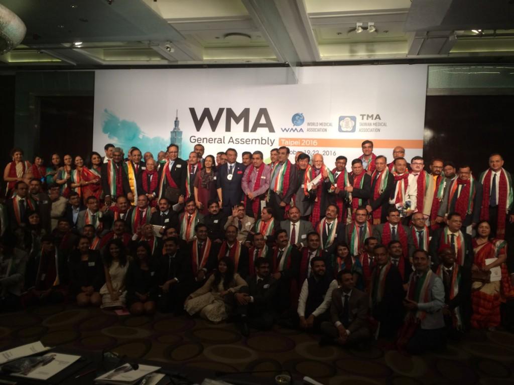 World Medical Association President Dr Ketan Desai