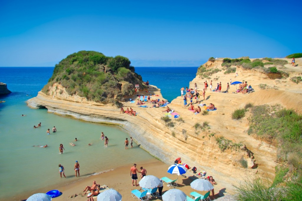 greec corfu-beaches