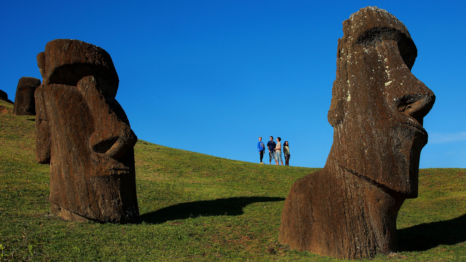a research of the mystery of easter island