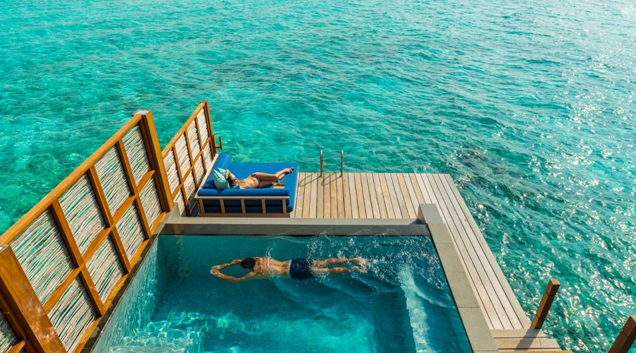 luxury destination Maldives