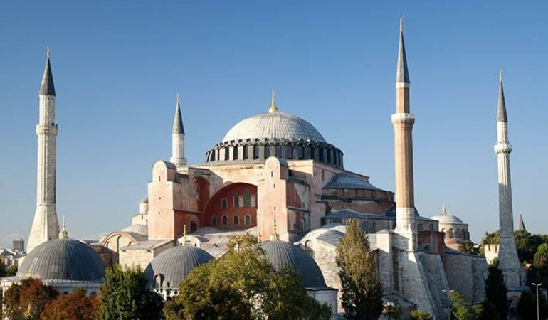 Hagia Sophia or the Blue Mosque