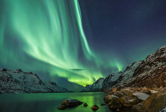 Watch Northern Lights From Igloos Norway